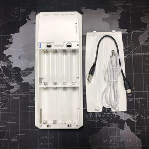 Image 2 - QD188 PD duplo usb qc 3.0 + tipo c pd dc saída 8x18650 baterias diy caixa de banco de potência caso titular carregador rápido (sem bateria)