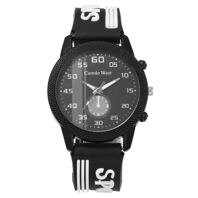 For 9-18 Years Sports Student Watch Military Sport Car Style Man Watches Kids Boy Silicone Clock Fashion School Hour Child Relog