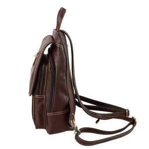 Image 3 - Vintage Soft PU Leather Backpack Women Purse Mini Lady Shoulder Bags Small Travel Casual School Crossbodys Bag for Female