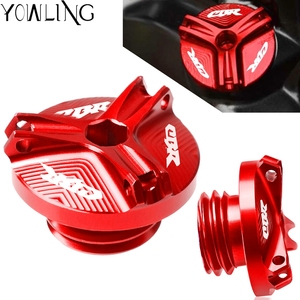 Motorcycle M20*2.5 Engine Oil Filter Cup Plug Cover Screw For Honda CBR 600 250R CBR 600 900 1000 RR CBR 600 F2 F3 F4 F4i 500R(China)