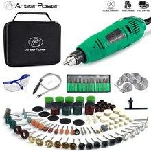 Dremel 260W Mini wiertarka elektryczna grawer obrotowy szlifierka narzędziowa elektronarzędzie 5 zmienna prędkość grawerowanie pióro z akcesoriami