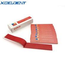 Стоматологическая артикуляционная бумага, не прилипающие полоски, лабораторные продукты, уход за зубами, инструмент для здоровья, стоматологическая клиника