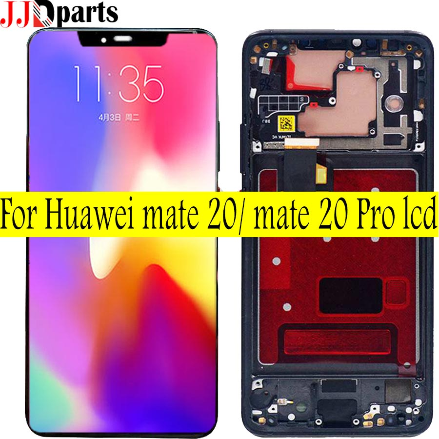 100% Tested Huawei Mate 20 LCD Huawei Mate 20 Pro LCD Touch Screen Digitizer Assembly Mate 20 LCD huawei mate 20 Pro Display-in Mobile Phone LCD Screens from Cellphones & Telecommunications    1