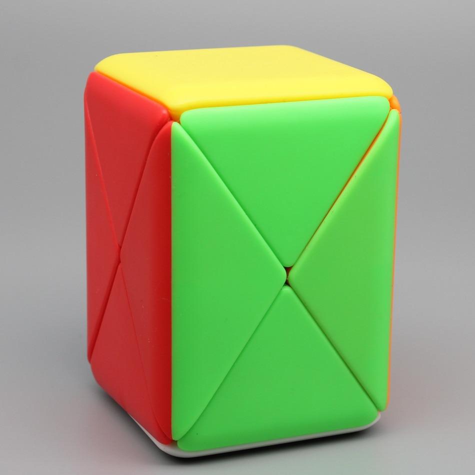 Moyu Cubo mágico Rompecabezas de contenedores Fisher Magic Cube 1x1x2 Twisty Speed Cube Rompecabezas profesional Juguetes para niños Regalo para niños Juguete educativo Cubo mágico sin etiqueta MoYu 3x3x3 meilong, Cubo de rompecabezas, cubos de Velocidad Profesional, juguetes educativos para estudiantes