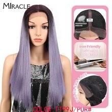 Благородные волосы, 20 дюймовый синтетический кружевной передний парик для чернокожих женщин, термостойкие прямые волосы, афроамериканский Плетеный парик для женщин