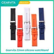 22 мм ремешок для часов силиконовые ремешки аксессуары высококачественный