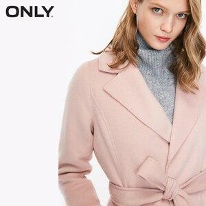 Image 4 - SOLO delle donne di autunno nuovo di lana doppio fronte di lana coat