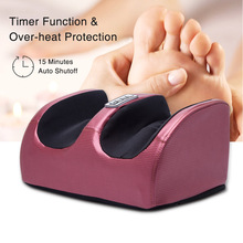 Foot Massager Calf Leg Electric Heating Massager Hot Compression Therapy Foot Kneading Relaxation Tension Relief Muscles Relaxer
