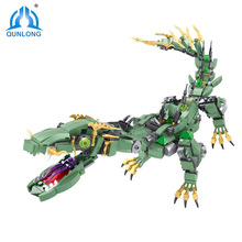 Movie Series Flying mecha dragon Building Blocks Bricks Toys Children Model Gifts Compatible With NinjagoINGs [jkela] 592pcs flying mecha dragon building blocks bricks toys children model gifts compatible with legoingly ninjagoingly