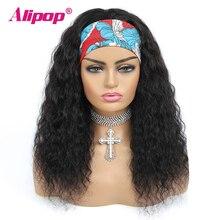 Alipop עמוק גל חבילות עם פרונטאלית 13x4 תחרה פרונטאלית עם ברזילאי שיער Weave חבילות רמי שיער טבעי חבילות עם פרונטאלית