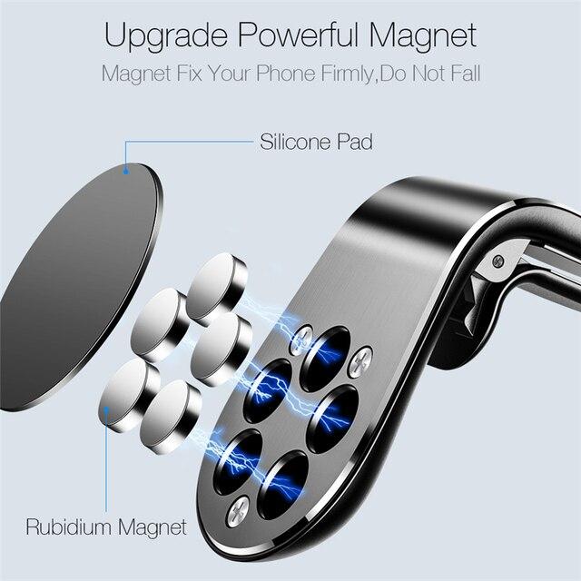 Magnetischer KfZ Handyhalter 4