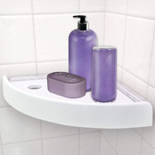 Угловая полка для ванной комнаты треугольные полки без перфорации