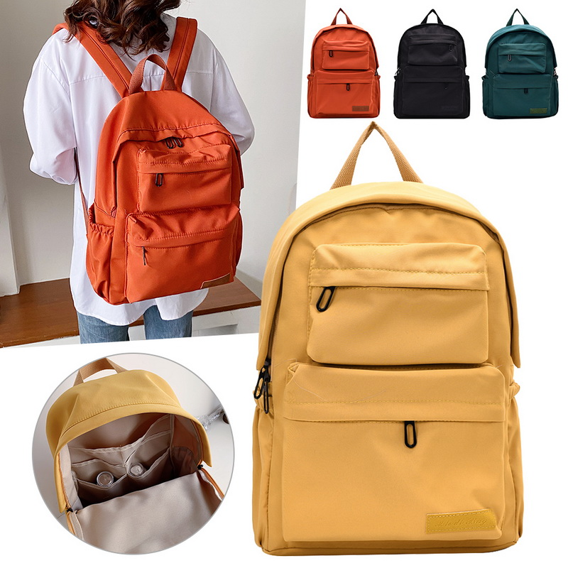 Ha22c2f95b9aa4008add2772fcf594384h - New Waterproof Nylon Backpack for Women Multi Pocket Travel Backpacks Female School Bag for Teenage Girls Dropshipping
