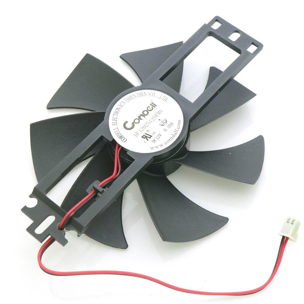 Dc Brushless Fan 1225h12s Df1202512semn 12v 0 2a 11 5cm For Induction Cooker Cooling Fan 2pin Dc Brushless Fan Brushless Fandc Brushless Aliexpress
