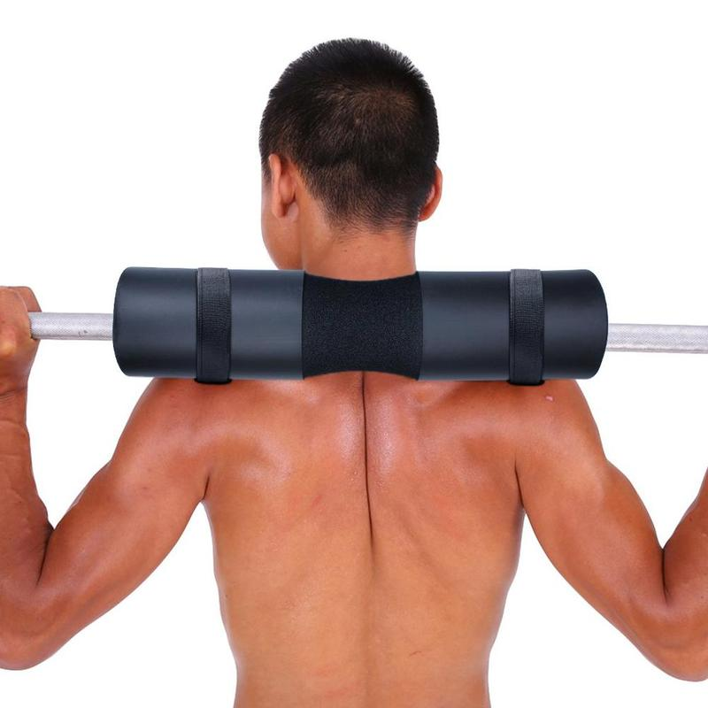 Gym Fitness Neck Support Back Protector Sponge Barbell Pad  Weight Lifting Grip