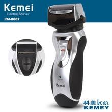 kemei rechargeable electric shaver elctric razor men beard trimmer face care groomer afeitadora shaving machine
