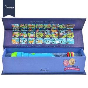 Image 2 - Mideer Mini proyector linterna para niños, juguetes educativos iluminados para niños, desarrolla el juego, cuentos de dormir, juego de actuación, regalo para niños