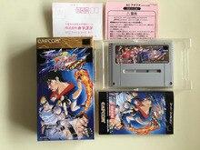 16Bit Games ** Final Fight Tough ( Japan NTSC J Version!! Box+Manual+Cartridge!! )