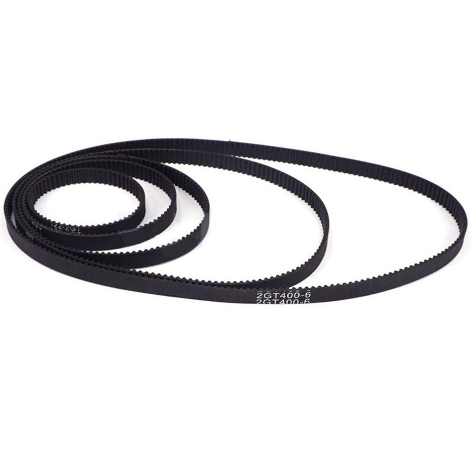 1Pcs 2GT-300 To 2GT-390 3D Printer Parts Closed Loop Rubber Timing Belt GT2 Width 6mm 10mm Synchronous Belts Part