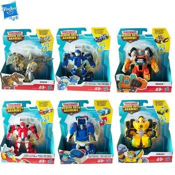 Hasbro Transformers, robots de rescate, Robot de la Academia Heatwave Bumblebee Chase, juguete de colección de modelos de coche