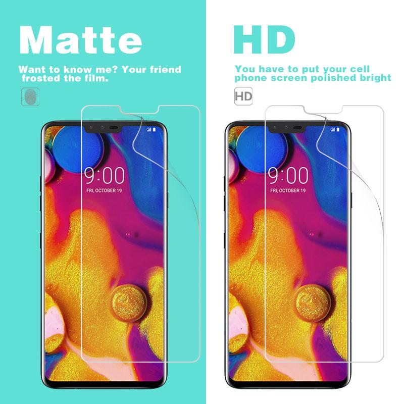 Clear HD Glossy Protection Film Cover For LG V10 V20 V30 V32 V34 V35 V40 Plus ThniQ Vlot Anti-Fingerprint Matte Screen Protector