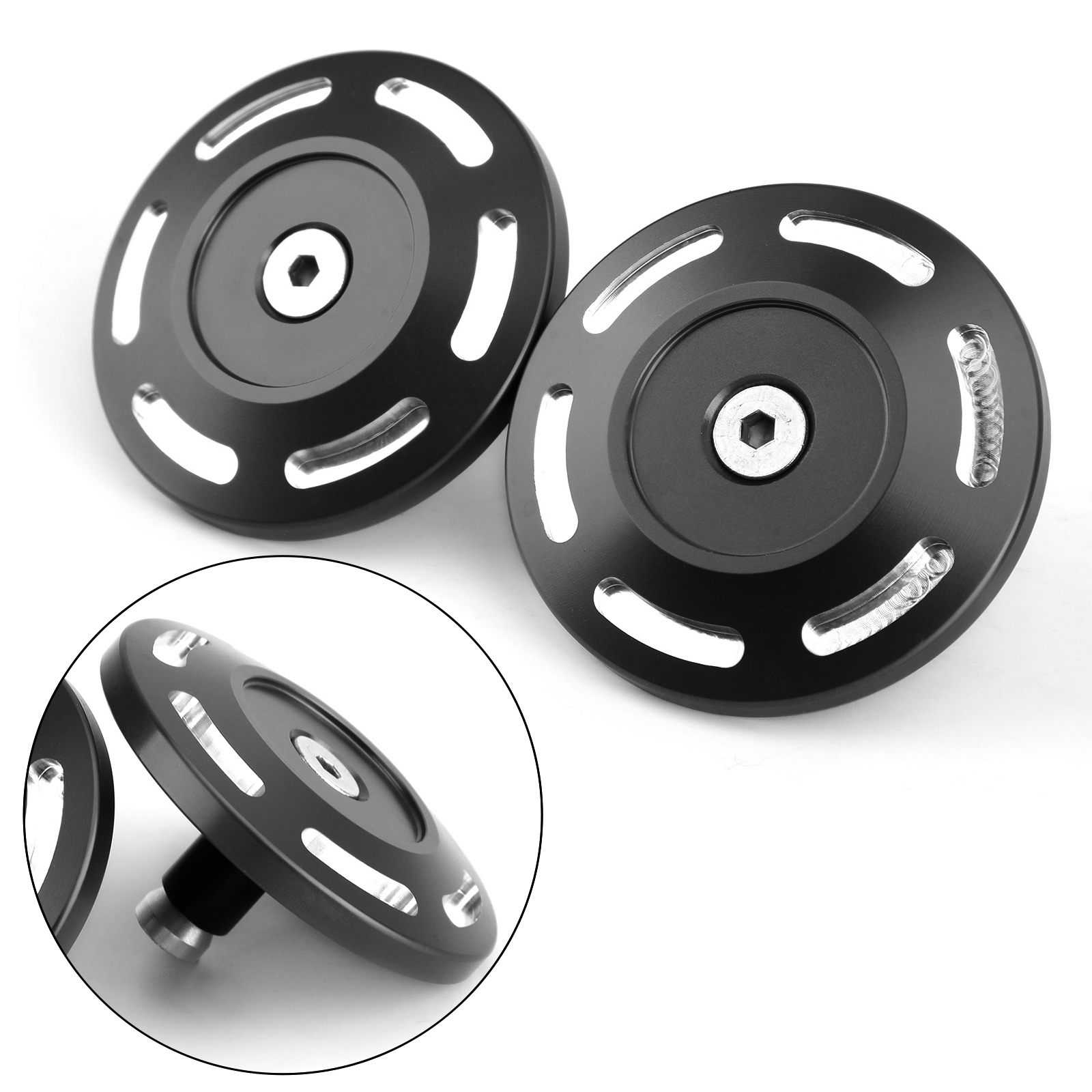 Artudatech 2x Billet Aluminum Frame Plug Cap Cover for BMW S1000XR S1000 <font><b>S</b></font> <font><b>1000</b></font> <font><b>XR</b></font> 2015 2016 2017 2018 2019 2020 Accessories image