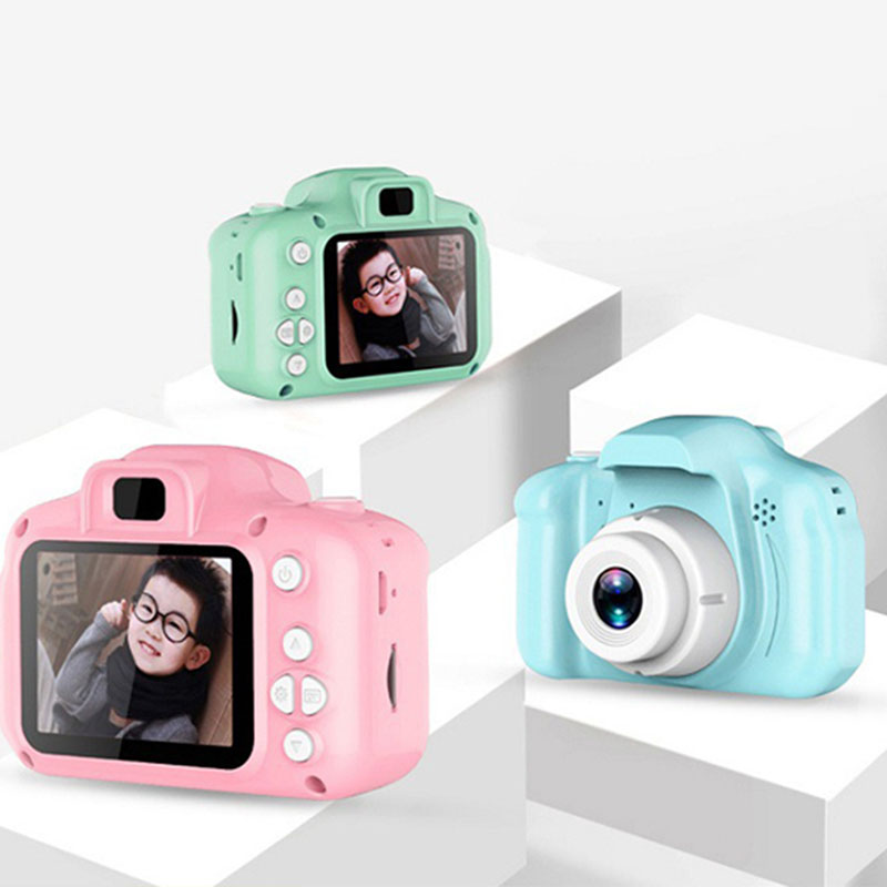 Children Camera Mini Digital Cute Camera For Kids High Definition 1080 Smart Shooting Video Recording Function Toy Cameras Gifts