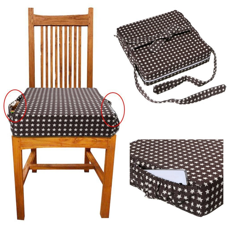 New Baby Chair Dining Chair Booster Cushion Removable Kids Highchair Pad Star Chair Heightening Cushion Child Chair Seat Product