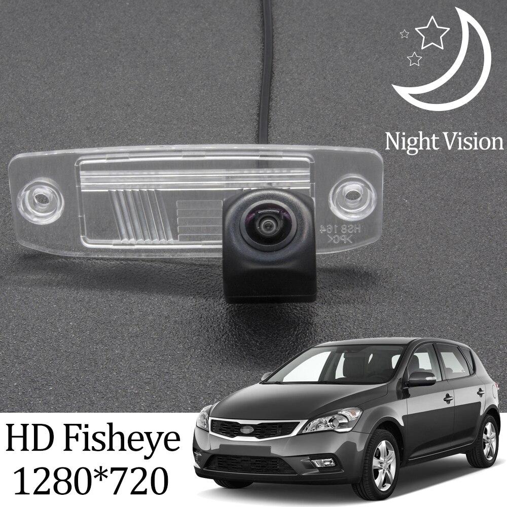 Owtosin HD 1280*720 рыбий глаз камера заднего вида для KIA Ceed (ED) 2006 2007 2008 2009 2010 2011 аксессуары для парковки автомобиля