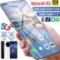 HUAWE 5G Mate40 RS глобальная версия смартфона 50 МП Камера 16G 512G MTK6889 + Deca Core, размер экрана 6800 мА/ч, 7,3 дюймов определено мобильный телефон