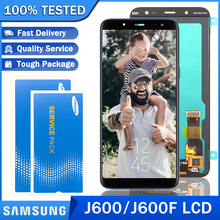LCD J600F Super-Amoled Original Display Digitizer Touch-Screen Samsung Galaxy for Repair-Parts