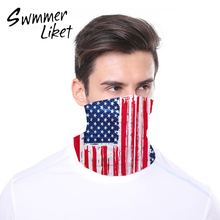 Outdoor Sports Warmer Neck Masks Cycling Face Mask Scarf Camouflage Face Cover Print half Face Bandana Sport Hiking Scarves new tanie tanio X20HE0062 Dustproof Bicycle Respirator Sports Protection Dust Mask Anti droplet Unisex Cycling Hiking Camping Running