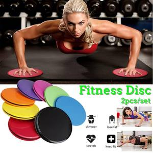 2Pcs Exercise Sliding Gliding Discs Yoga Fitness Abdominal Trainers Core Slider Gliding Discs Yoga Training Exercise Equipment
