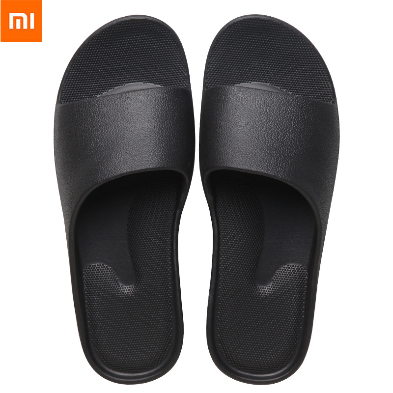 NEW XiaoMi Mijia Fashion Sandals Men and Women Non-slip Wear-resistant EVA Thick Bottom Comfortable Home Slippers Bathroom Bath(China)