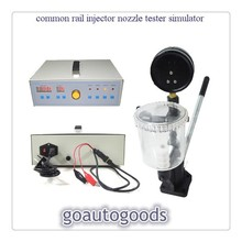 цена на Common Rail Injector Tester simulator with injector nozzle Pop Pressure Tester - Dual Scale BAR / PSI Gauge
