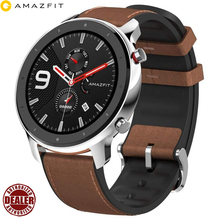 Global Version Luxury Men Watches In Wristwatches Huami Amazfit GTR 47mm 4G Android SmartWatch with GPS Swimming Waterproof