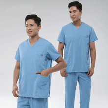Hand-washing clothes male doctors wear hand-washing clothes surgical clothing isolation clothing oral hospital uniforms