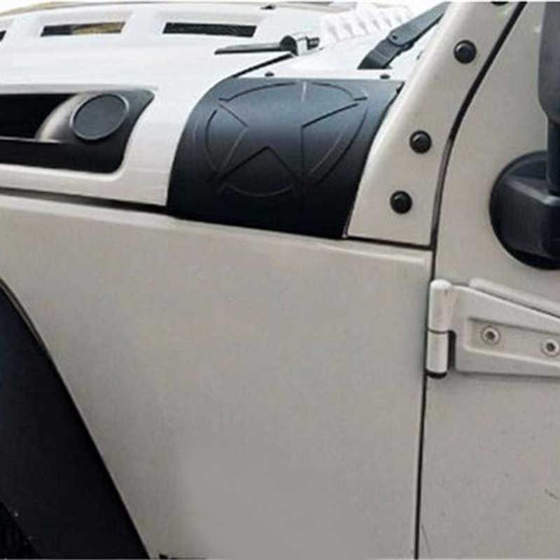 新フードコーナーガード付き車フード鎧用ジープラングラー JK JKU 2007-2018