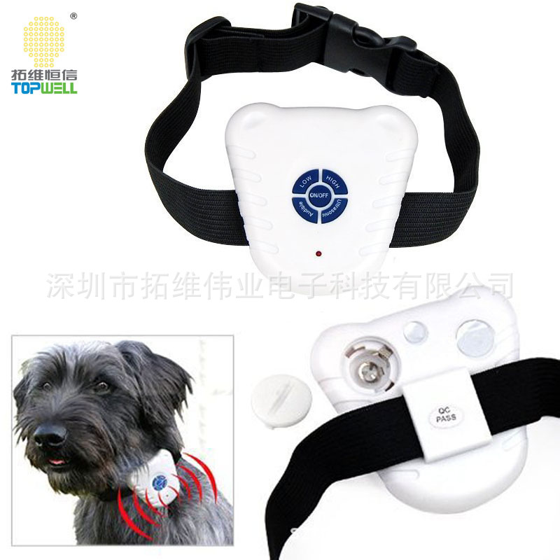 Ultrasound Stoppers Anti-Dog Neck Ring Stop Dogs Maker Bark Control Dog Collar