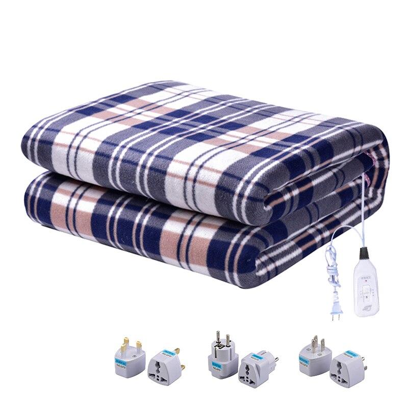 Электрическое одеяло, 220 В, более плотный обогреватель с двойным корпусом, 120*150 см, одеяло с подогревом, матрас, Манта, электрическое одеяло с подогревом|Электрические нагреватели|   | АлиЭкспресс