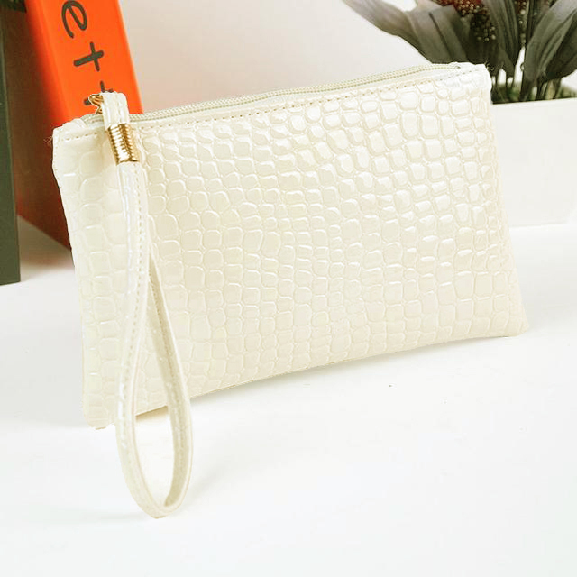 Ha22f6d7c68ce442dbb3ed91ceffa0056i - Women Coin Purse small wallet Crocodile Leather