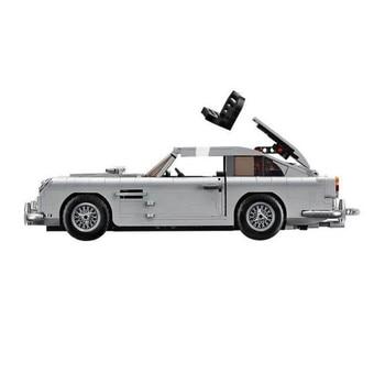 New 1295Pcs Technic Creator Expert James Bond Building Blocks Bricks Classic 007 10262 Cars Model Children Toy  Gift 2