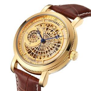 Gold Automatic Mechanical Watc