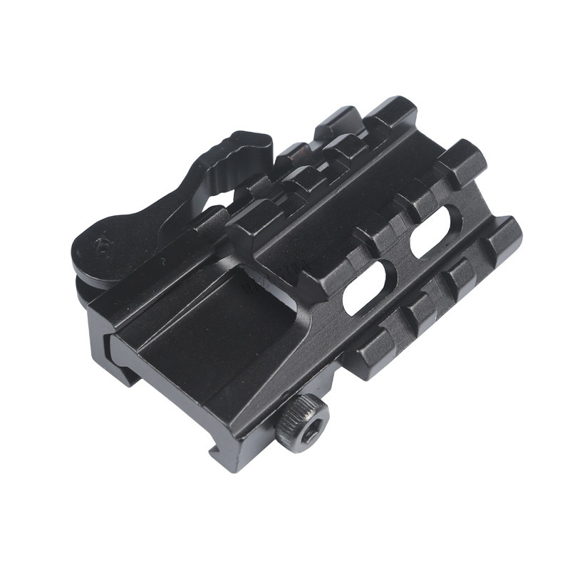 Tactical  Scope Mount  45 Degree Offset Double Side 20mm Picatinny Rail Weaver Adapter Laser Sight Base Flashlight