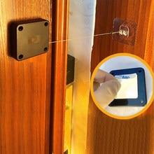 Cierre automático de puerta para todas las puertas, 800g, Sensor de cierre de puerta sin perforaciones de tensión, cierre de puerta automático