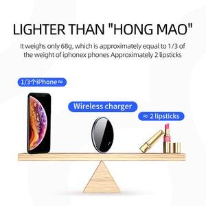 Image 5 - Joyroom 10W Sạc Nhanh Không Dây Dành Cho iPhone XR X Xs MAX 11 Pro LED Mini Sạc Cho Samsung S8 s9 S10 Plus Sạc Điện Thoại