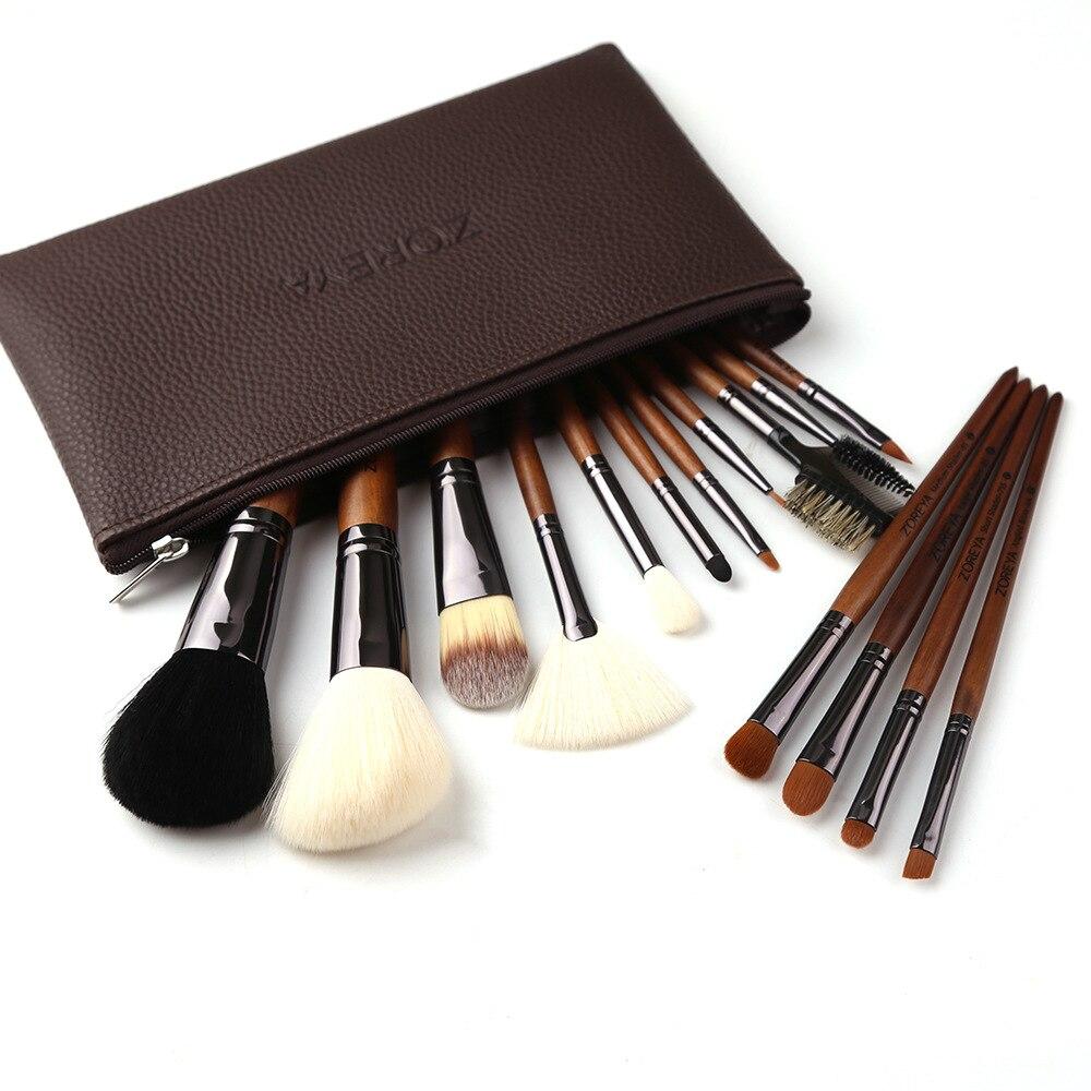 Msq 10 шт. набор кистей для макияжа Косметическая Пудра Тени для век основа для макияжа медный наконечник инструмент для макияжа с магнитным ч... - 3
