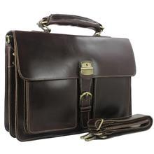 Luksusowa skórzana teczka męska skórzana teczka męska torba na laptopa 15 6 krótka walizka duża torba biznesowa męska torba biurowa torba do pracy