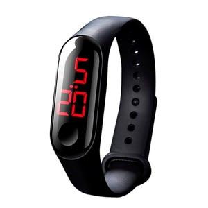 Luxury Men Women Sport Casual LED Watches Digital Clock Luminous Sensor Waterproof Wrist watch montre femme Relogio Masculino(China)