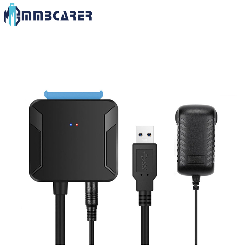 0.4m USB 3.0 To Sata Cable Sata Adapter Convert Cables Converter Male to 2.5/3.5 Inch HDD/SSD Adapter Hard Drive Wire Adapter